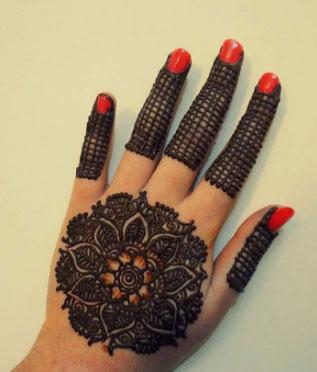 Gol Tikki Henna Designs