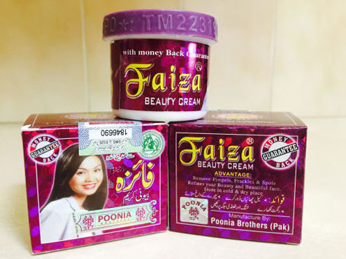 Faiza Cream