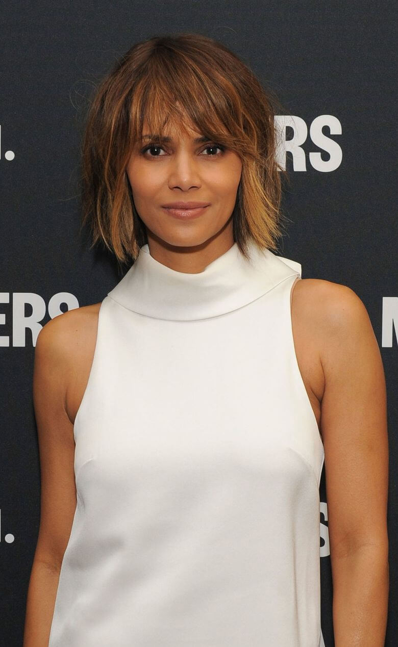 Close-Cropped Haircut Female Style