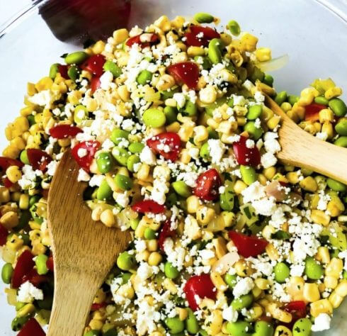 Corn Succotash Salad