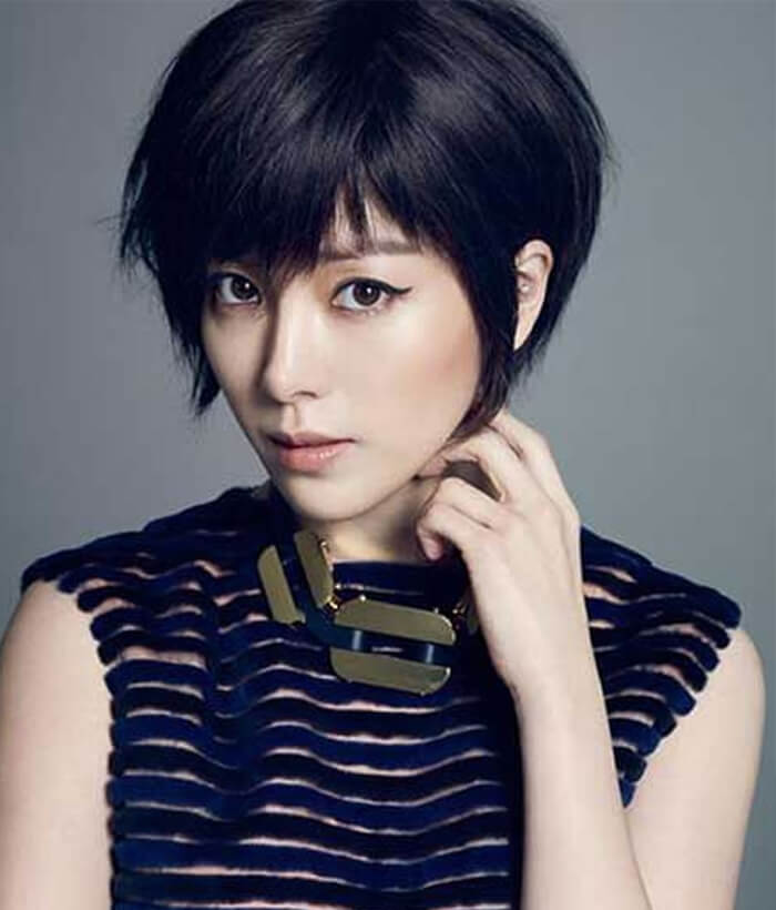 Pixie Hairstyles and Haircuts For Asian Women