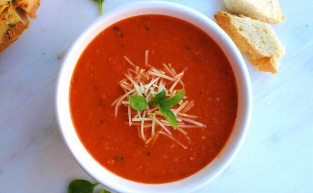 Tomato Parmesan Bisque