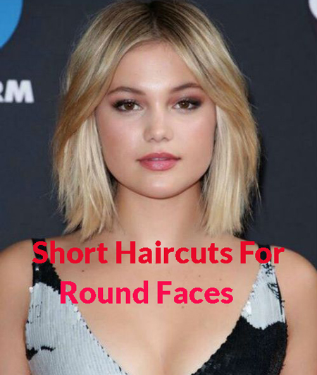 Top 40 Short Haircuts Styles That Are Perfect For Round Faces