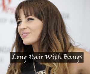 20 Best Long Hair With Bangs Gorgeous Examples