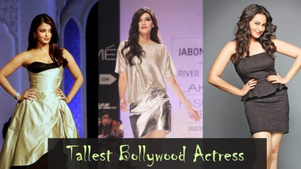 Tallest Bollywood Actress
