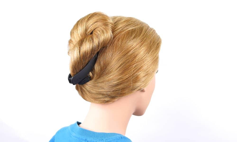 hair curl French Twist Technique